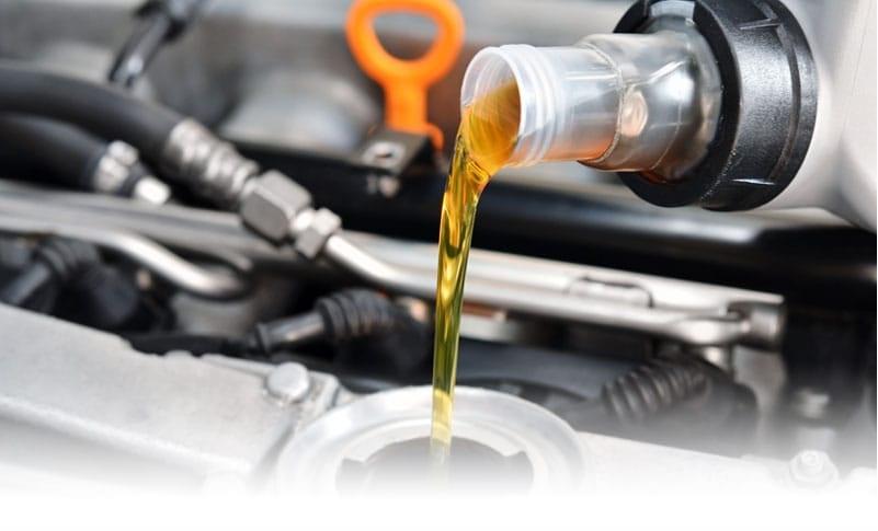 best car loses oil