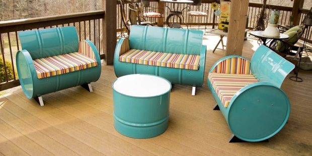 8 Ingenious Furniture With Recycled Material That You Can Make Yourself