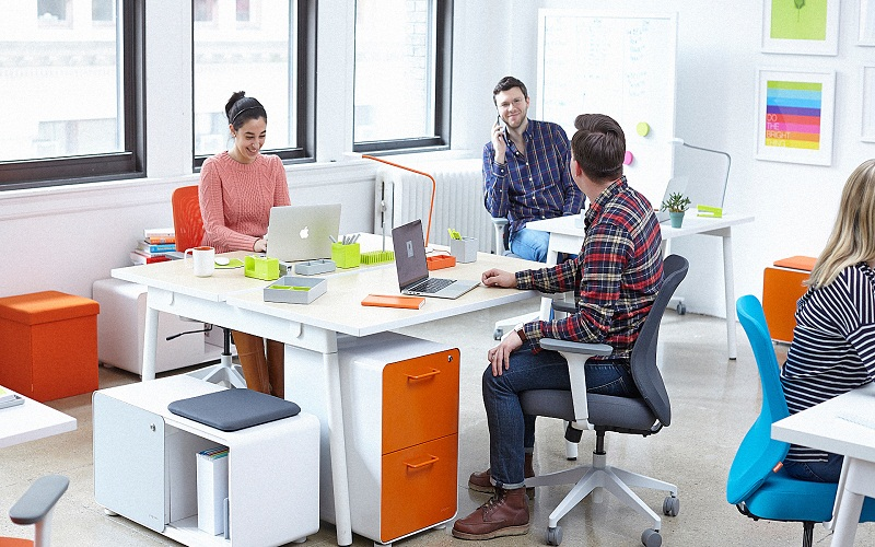 discover work environment