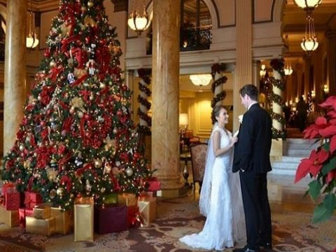 Wedding at Christmas