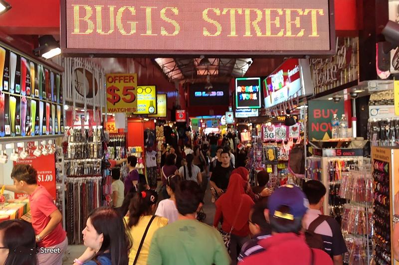 Bugis Street flea market