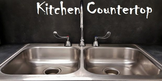 how to install a kitchen countertop