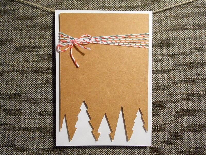 the Christmas postcards