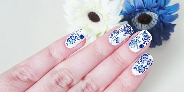 Chinese Painting On Nails