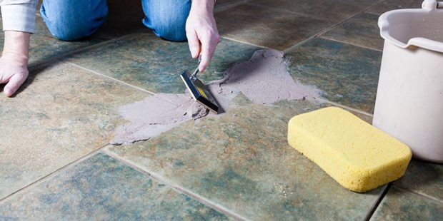Grout to Dry