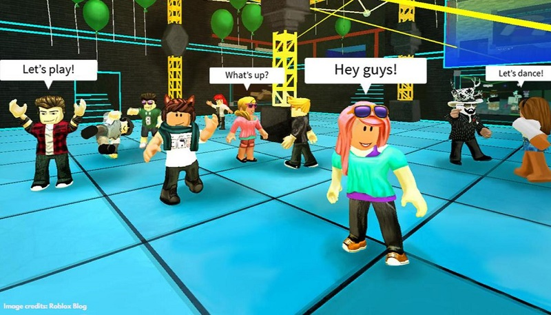 How to dance on Roblox